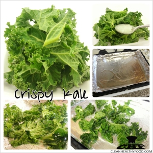 Crispy Kale ingredients